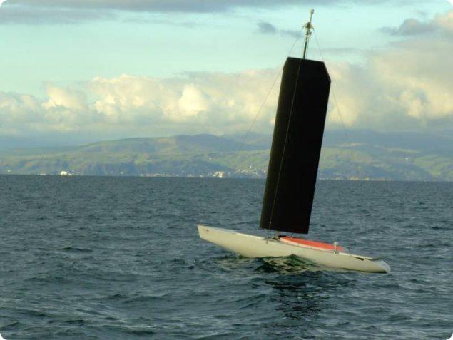 autonomous sailing boat