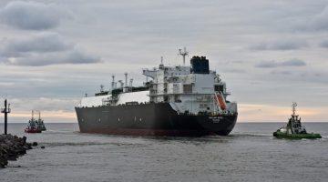 golar seal lng carrier klaipeda