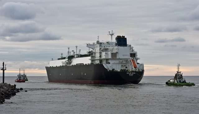 golar seal lng carrier klaipeda