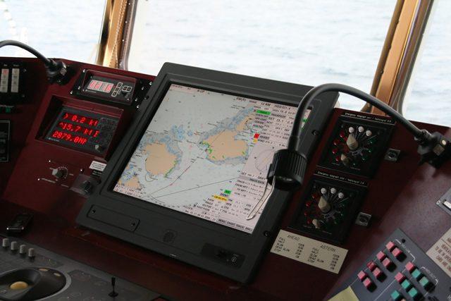 ecdis electronic chart display navigation