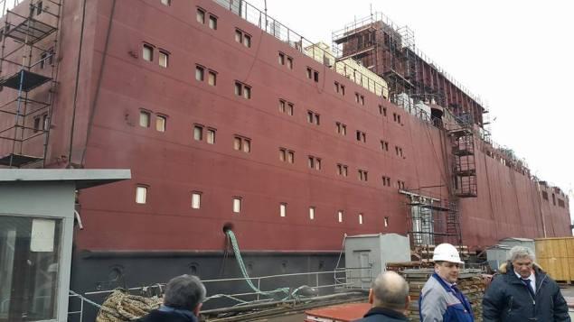 baltic shipyard nuclear icebreaker