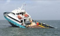 Crewboat Sinks in Gulf of Mexico After Collision With Halliburton Liftboat [INCIDENT PHOTOS]