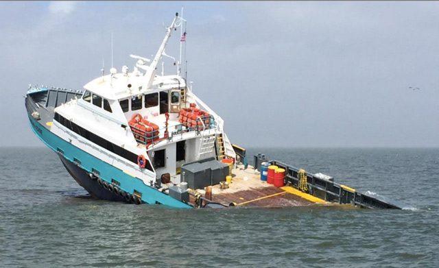 diamond edge crewboat sinking