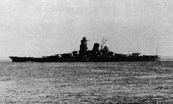 Japanese battleship Musashi. Wikimedia Commons
