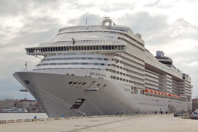 MSC Splendida file photo. Creative Commons