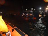 Two Men Narrowly Escape Capsized Tug in Southampton