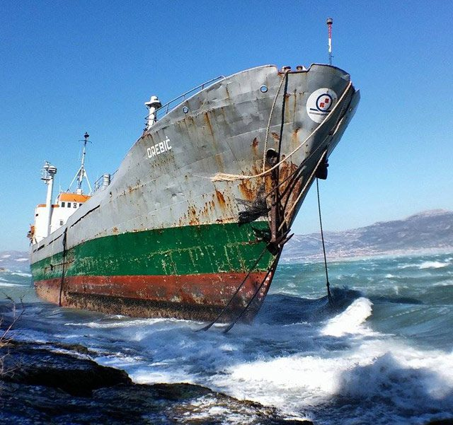 orebi? aground