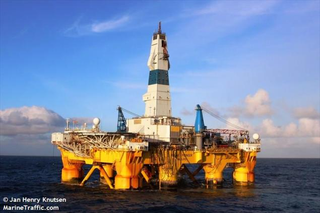 File photo of Transocean's Polar Pioneer rig, one of two  Photo (c) MarineTraffic/