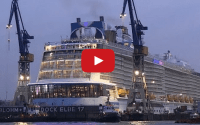 WATCH: Anthem of the Seas Arrives In Hamburg