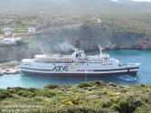 Greek Ferry Runs Aground in Kasos