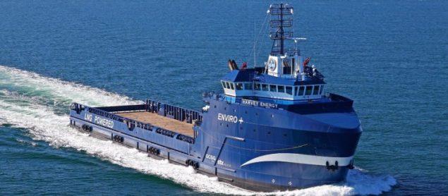 MV Harvey Energy. Photo courtesy Shell