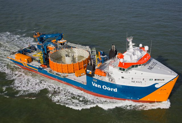 nexus van oord cable lay vessel