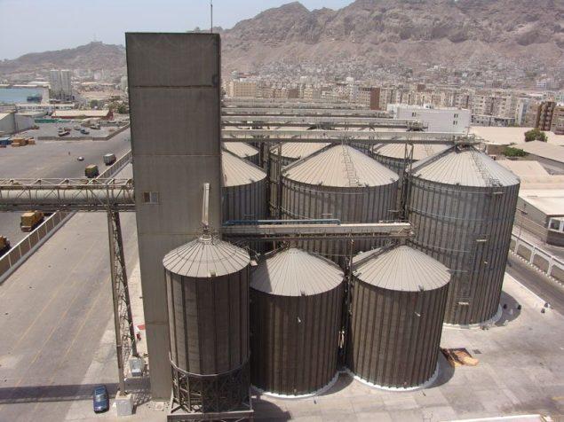 aden grain silo yemen