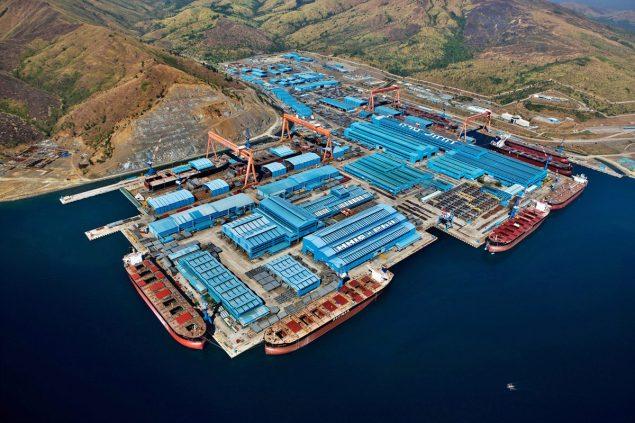 Hanjin Heavy Industries and Construction's Subic shipyard. Photo: Hanjin Heavy