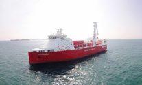 Norlines Kvitbjørn cargo ship