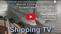 Video: Bow to Bow with Maersk Edinburgh