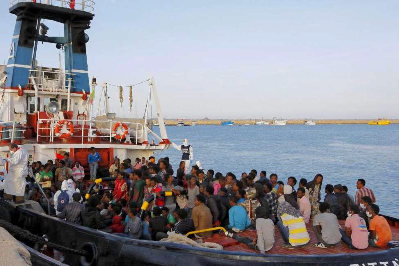Migrant Refuges in Sicilian