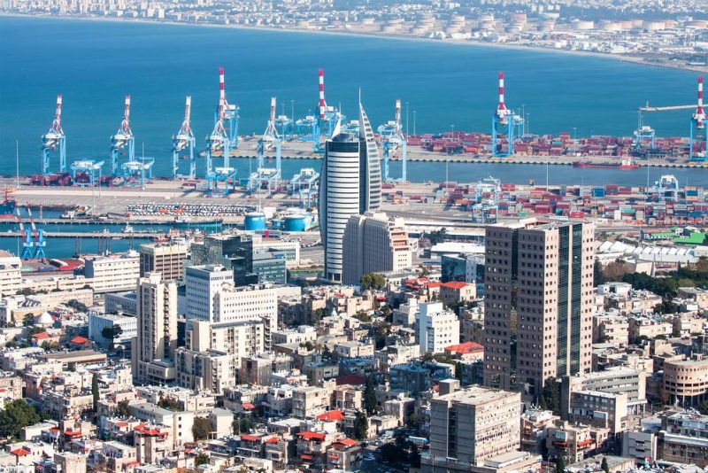 Port of Haifa. File photo (c) Shutterstock/maratr