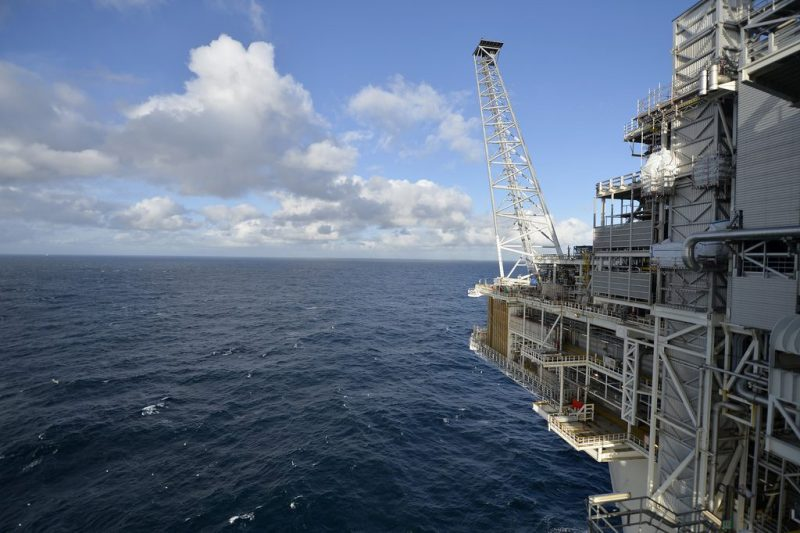 View From Statoil Rig Troll A