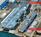 SPOTD: HMS Queen Elizabeth next to the 2nd largest British warship