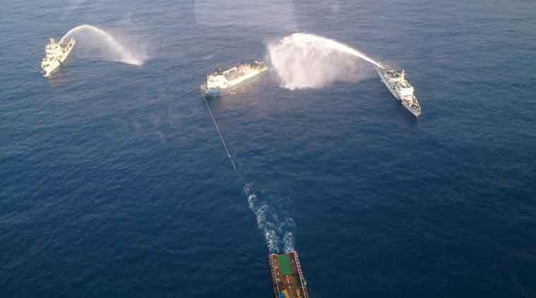Vestfonn boat fire