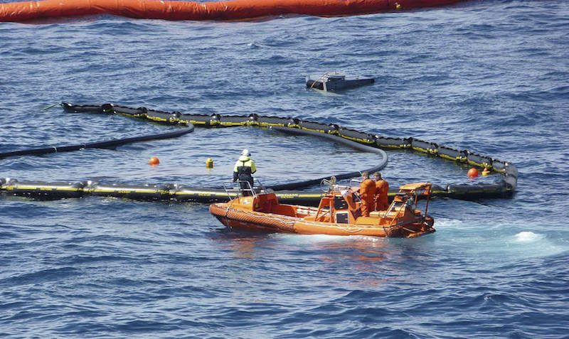 File photo shows Norway's Oil on Water exercise from 2010. Photo: NOFO