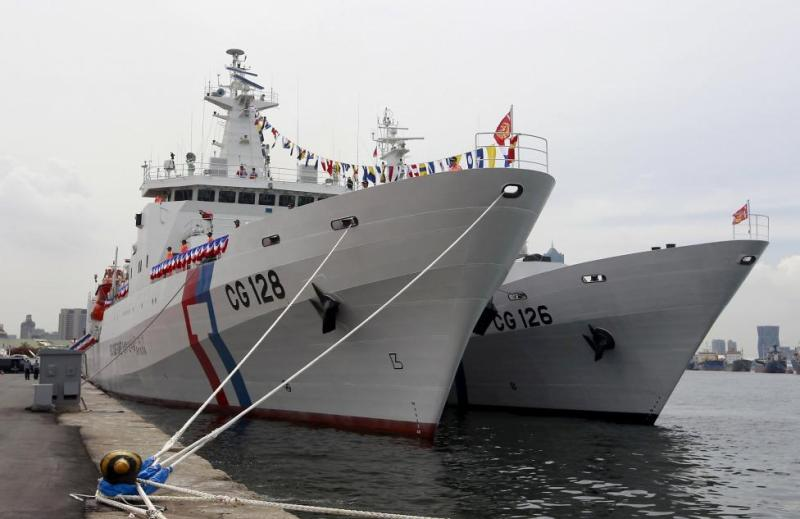 Taiwan Coast Guard's new patrol ship