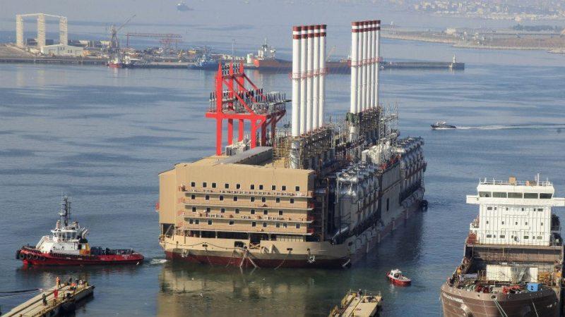 Karpowership Electric Barge