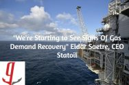 Statoil Sees Signs Of Gas Demand Recovery