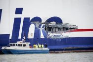 Stena Line Ferry Damaged in Collision with Tanker – INCIDENT PHOTOS