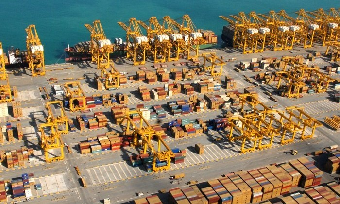 Jebel Ali Port. File Photo: DP World UAE