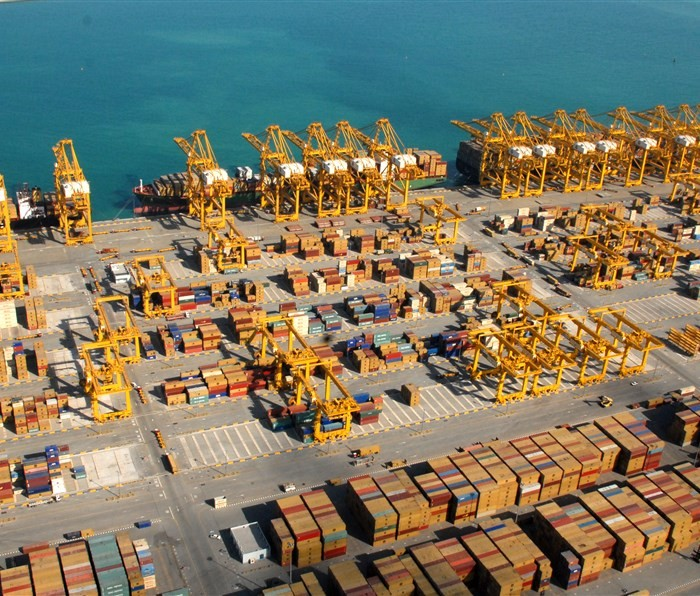 Jebel Ali Port. File Photo: DP World UAE