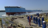 WATCH: Subsea Cable-Layer Maersk Connector Launched