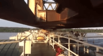 WATCH: Steamboat American Queen Passes Under Bridge With Inches to Spare
