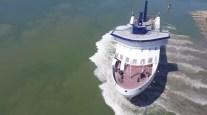 WATCH: MV Legionnaire Sideways Launch