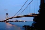 Ship Photos of the Day – Ships Passing Under New York's Verrazano Bridge