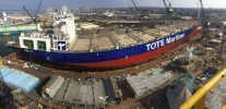 Ship Photo of the Day – TOTE 2 Readied at NASSCO