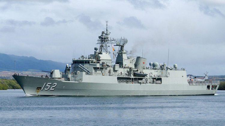 The RAN's Anzac-class frigate HMAS Warramunga. File photo: Creative Commons