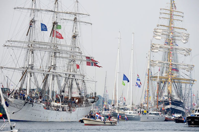 Norway's tall ship Christian RadichREUTERS/Paul Vreeker/United Photos