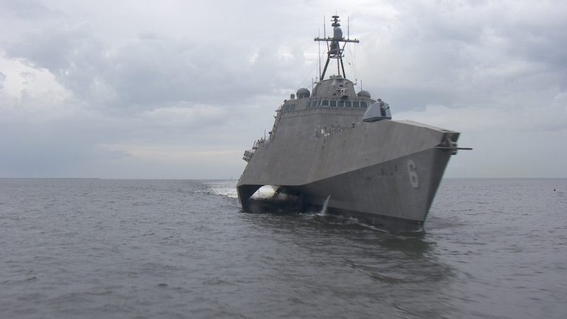 The future USS Jackson (LCS 6). Photo: Austal