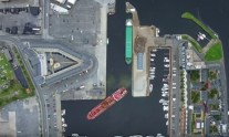 WATCH: Tanker Maneuvering Into Port in Perfect Aerial Time-Lapse