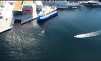 Drone Video: Platform Supply Vessel NAO Protector in Stavanger, Norway