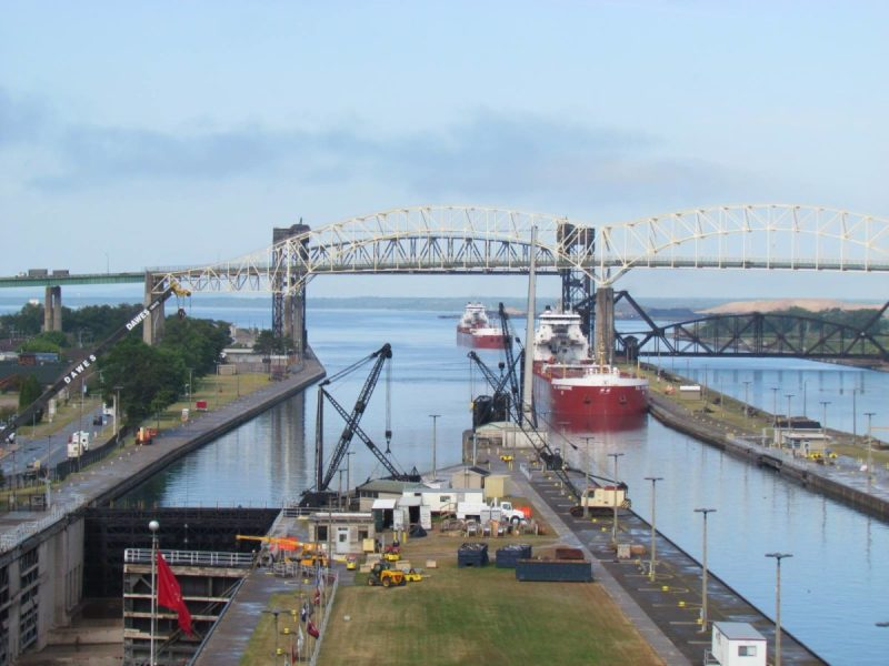 Soo Locks. Photo: U.S. Army Corps. of Engineers