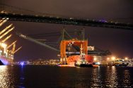 Ship Photos of the Day – Giant Gantry Cranes Arrive in Los Angeles