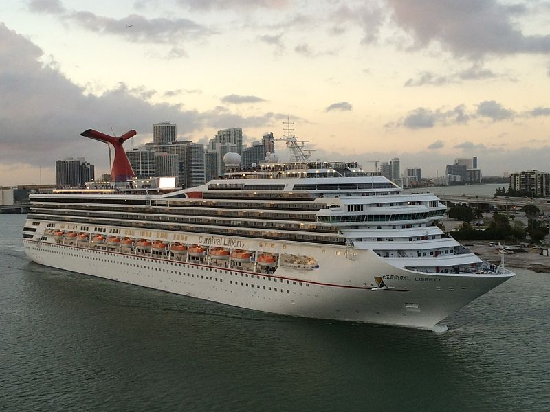 Carnival Liberty. File photo: Wikimedia Commons
