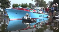 WATCH: Model Emma Maersk Under Tow Looks Just Like the Real Thing