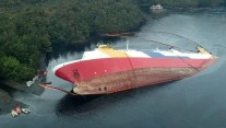 Chilean Ferry Scuttled After 2014 Patagonia Grounding – Photos and Video