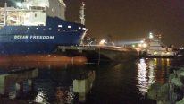Ship Hits Barge in Corpus Christi – INCIDENT PHOTO