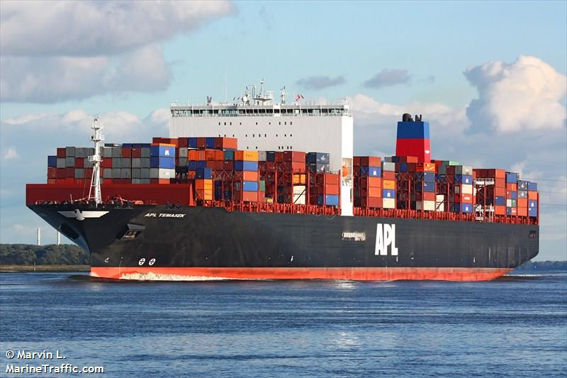 APL Temasek. Photo: MarineTraffic.com/