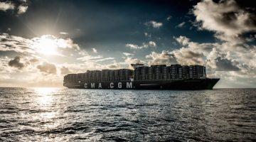 CMA CGM BOUGAINVILLE - Copyright MALMIF PHOTOGRAPHY